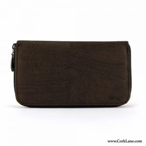 Cork purse brown
