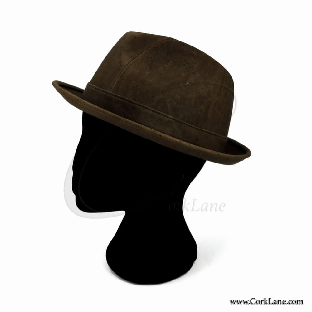 Trilby hat brown