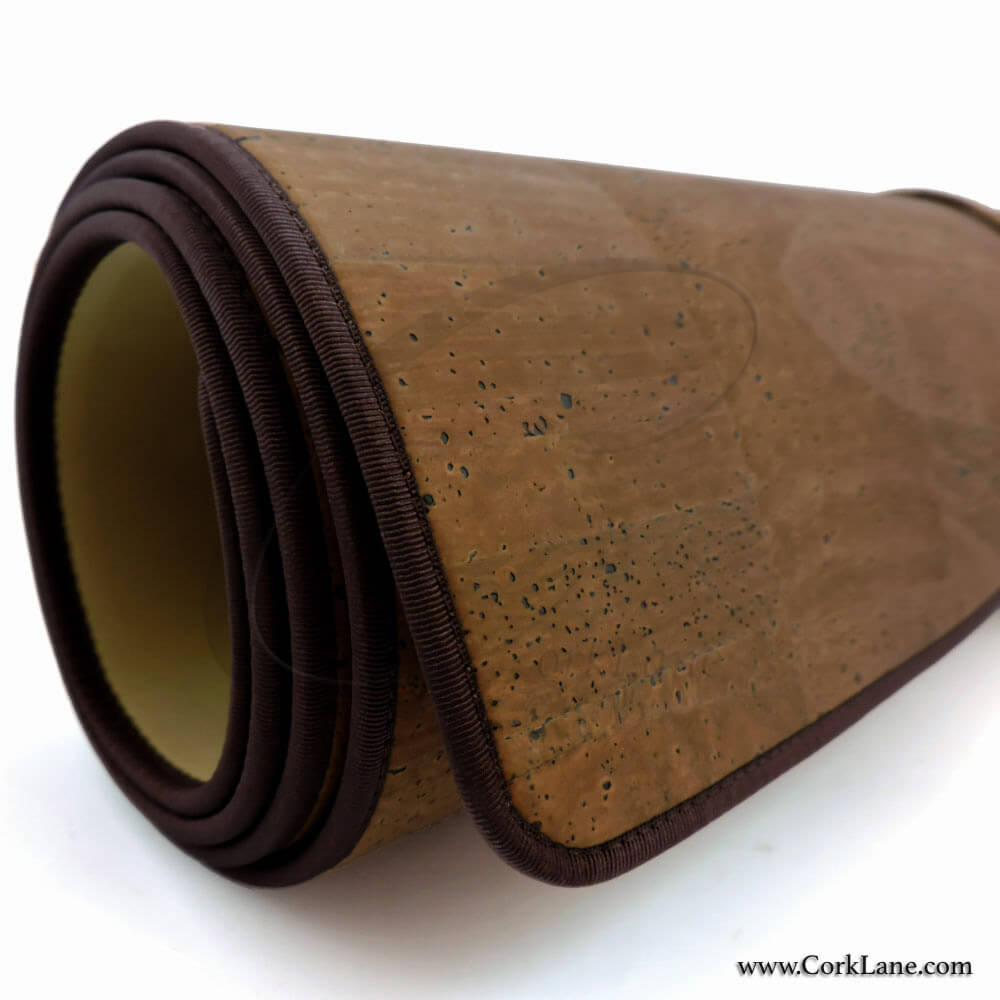 Yoga Mat Brown Best Quality Cork Yoga Accessories From
