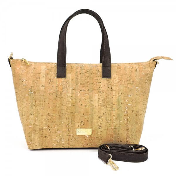 Shoulder bag gold flecks