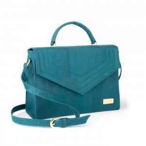 Jackie shoulder bag teal