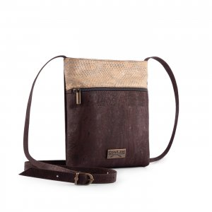 Caiman crossbody bag brown